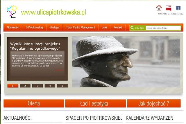 Nowa strona urzędu miasta - ulicapiotrkowska.pl.