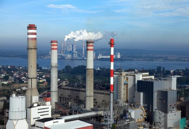 Wytwórnia wodoru powstanie na terenie Elektrowni Konin (na pierwszym planie)