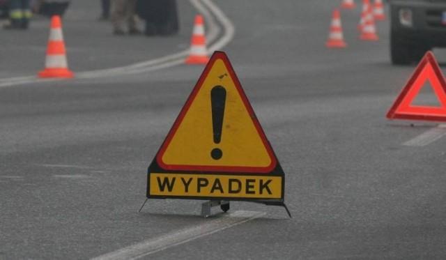 Do wypadku z udziałem motocyklisty doszło na ulicy Leśnej w Brzesku