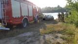 Samochód wpadł do zbiornika wodnego. Nie żyje jedna osoba
