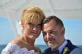 Wzięli ślub na plaży w Łebie. Lęborczanie Kamila i Patryk ślubowali przed burmistrzem