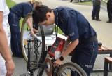 Policjanci z Kalisza zaprosili na akcję znakowania rowerów ZDJĘCIA