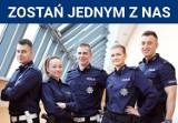 Prawie 10 osób na jedno miejsce do pracy w policji