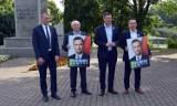 Poseł Krzysztof Paszyk zachęcał w Pile do głosowania na Władysława Kosiniaka-Kamysza. Zobaczcie zdjęcia z konferencji prasowej