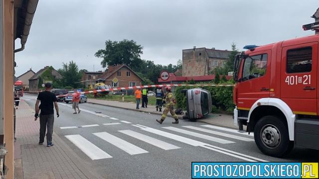 Wypadek w Skorogoszczy 23.06.2021r.