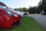Miłośnicy samochodów alfa romeo spotkali się na ogrodzienieckiej Krępie
