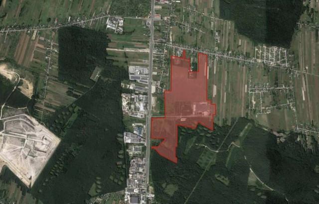 Właściciel wystawił na sprzedaż największy teren inwestycyjny w granicach Kielc - działki o łącznej powierzchni 78,6 hektara przy ulicy Piotra Ściegiennego 449.