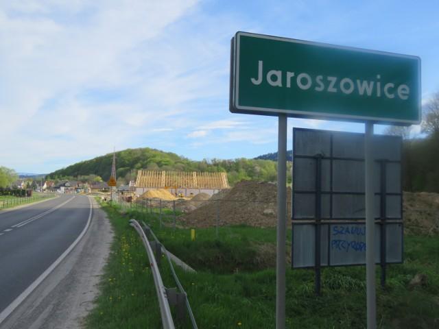 Budowa Biedronki w Jaroszowicach przy DK28