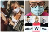 Znani Podlasianie zakrywają twarze. Sprawdź, kto zapozował w maseczce (zdjęcia)