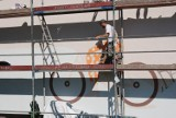 Ten mural w Jastrzębiu-Zdroju oczyszcza powietrze! Zobaczcie, jak powstawał