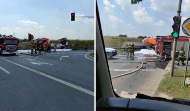 Śmiertelny wypadek na skrzyżowaniu Igołomskiej i S7