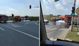 Śmiertelny wypadek w Krakowie. Nie żyje 64-letni kierowca zamiatarki MPO