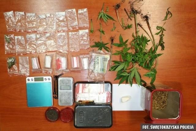 Narkotyki przejęte przez starachowickich policjantów