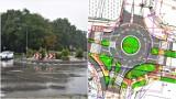 Tarnów. Kłopotliwe rondo u zbiegu Starodąbrowskiej i Słonecznej czekają zmiany. Będzie więcej zieleni, ale czy bezpieczniej? [ZDJĘCIA]