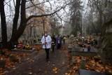 Pogrzeby na cmentarzach w Nowej Soli i Otyniu. Listopad był najgorszym miesiącem, odkąd jest dostęp do cmentarnych ksiąg