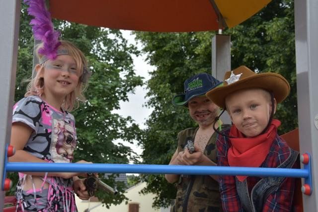 Kowbojskie klimaty na Festynie Rodzinnym w Lubiatowie