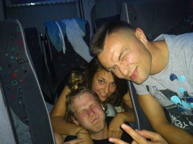 Liber i jego drużyna w drodze do Warszawy