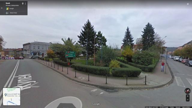 Brzesko na zdjęciach Google Street View