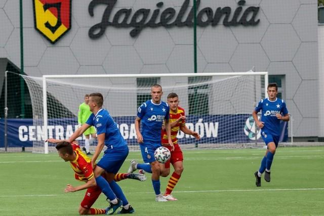 Jagiellonia pokonała Wisłę Kraków 4:2 w Centralnej Lidze Juniorów Starszych