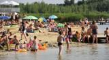 To była upalna lipcowa niedziela nad zalewem Żółtańce. Zobacz zdjęcia