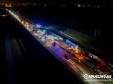 Karambol na A4 pod Tarnowem. Autostrada była zablokowana!