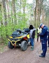 Powiat brzeski. Posypały się mandaty dla kierowców łamiących zakaz wjazdu do lasów
