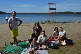 Wiosenne oblężenie Niesulic! Nad jeziorem Niesłysz już pojawiły się tłumy. Mieszkańcy korzystali z pięknej pogody