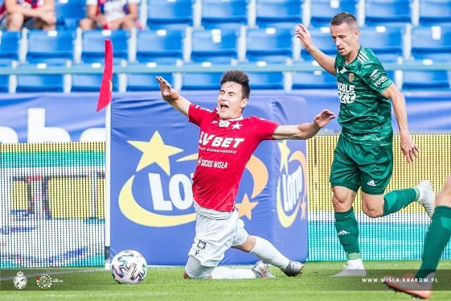 Dawid Szot był jednym z niewielu piłkarzy Wisły Kraków, który w meczu ze Śląskiem Wrocław pokazał się z dobrej strony