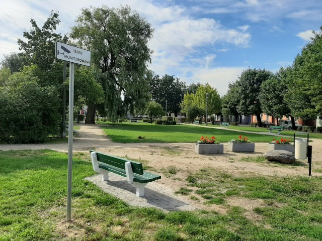 Trwają prace nad odświeżeniem parku w Aleksandrowie Kujawskim