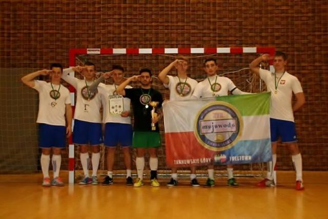 VIII Turniej Halowej Piłki Nożnej w Woźnikach