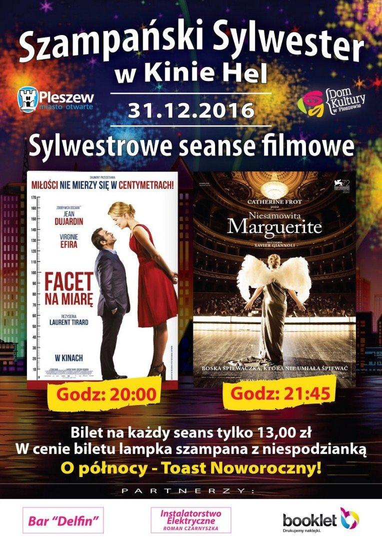 Szampański Sylwester W Kinie Hel Zaproszenie Naszemiastopl