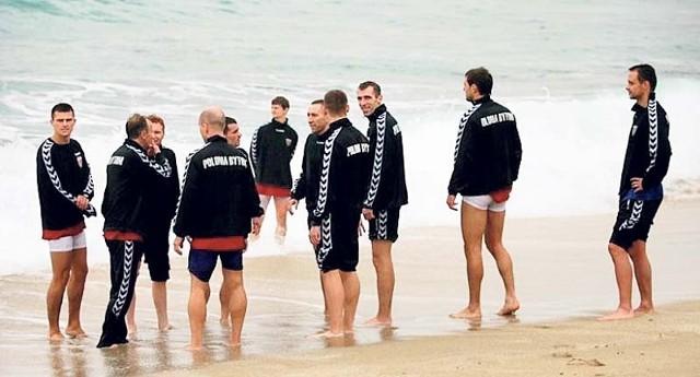 Polonia Bytom jako pierwsza z naszych drużyn przyjechała tej zimy  do Turcji i... dokonała zaślubin z morzem