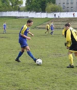 Siergiej Jeroszewicz w meczu z Pomezanią był bez formy. Fot. Wojciech Piepiorka