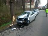 Wypadek w Czarnym Borze ul. Parkowa (ZDJĘCIA)