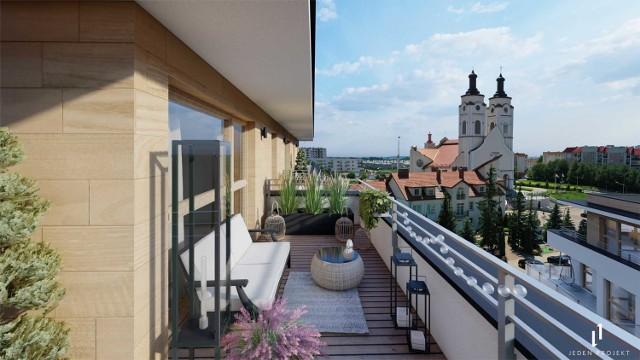 Apartamenty znajdować się będą w najwyższym punkcie w Łomży.