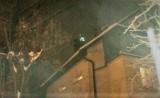 Nowy Sącz. Pożar przy ul. Przesmyk. Strażacy gasili go ponad godzinę [ZDJĘCIA]