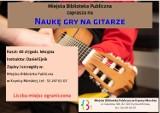 Biblioteka w Krynicy Morskiej zaprasza na lekcje gry na gitarze
