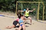 Dziewczyny grały w piłkę ręczną na plaży w Zielonej Górze. To było piękne [ZDJĘCIA]