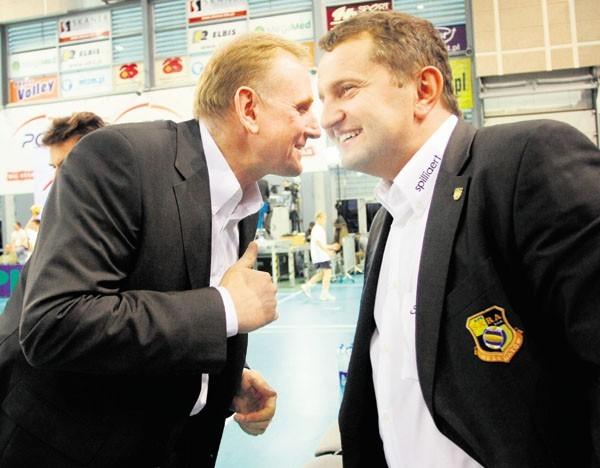 Jacek Nawrocki i Konrad Piechocki liczą na rewanż Skry za porażkę w Pucharze Polski