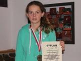 Ola Rojek, tenisistka MKS Szczawno-Zdrój wygrała mistrzostwa Dolnego Śląska