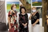 Pierwsza wystawa w Klubie Senior +. Swoje obrazy prezentowała malarka związana od 40 lat z Sokólszczyzną