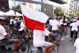 Masa Powstańcza 2021. Tłum rowerzystów przejechał przez Warszawę [ZDJĘCIA]