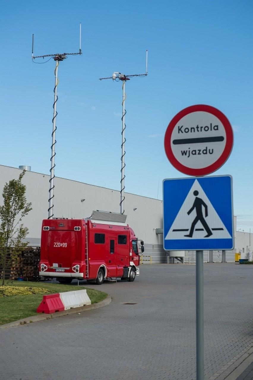 Pożar w Werner Kenkel w Bochni, na szczęście to tylko ćwiczenia - strażacy trenowali gotowość na wypadek sytuacji awaryjnej [ZDJĘCIA]