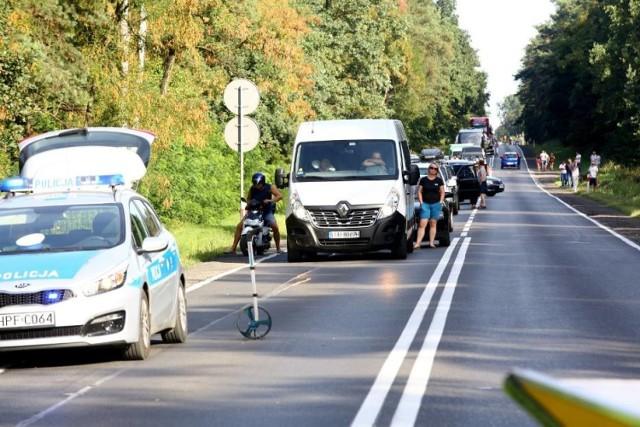 Korki i wypadki na dk12 Piotrków - Sulejów. Kiedy to się wreszcie skończy?