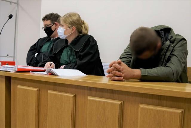 Rozpoczął się sądowy proces Jędrzeja O. oskarżonego o nieumyślne spowodowanie wypadku w Ryżynie 21 lipca 2019 roku (23.09.2021).