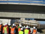 Budowa etakady przy Portowej i Perseusza trwa. Otwarcie planują na lipiec 2012