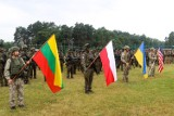 """""""Trzy miecze 2021"""". Na Ukrainie rozpoczęły się wielonarodowe manewry wojskowe. Zobacz zdjęcia"""