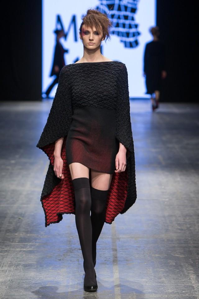 Pokaz kolekcji Agnieszki Bonisławskiej / Mia Stilo odbył się podczas wiosennej edycji Fashion Week Poland w Łodzi w sobotę, 23 kwietnia
