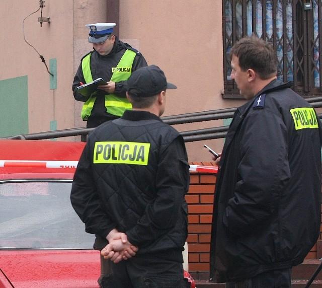 Policja na razie bezskutecznie szuka sprawcy