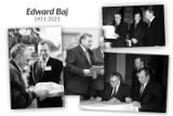 Zmarł Edward Baj, były przewodniczący rady powiatu w Kluczborku i kierownik rejonu GDDKiA